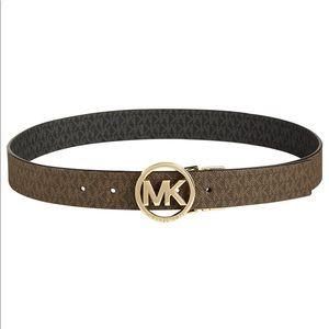 Michael Kora logo belt